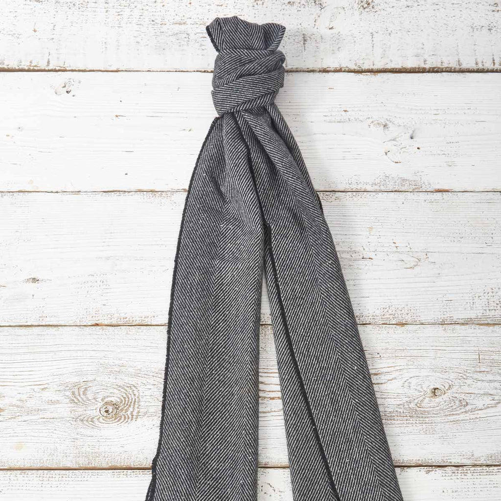 Extra Long Scarf - Black - Tolly McRae