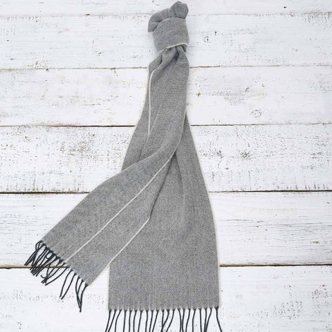 Extra Long Scarf - Charcoal Grey - Tolly McRae