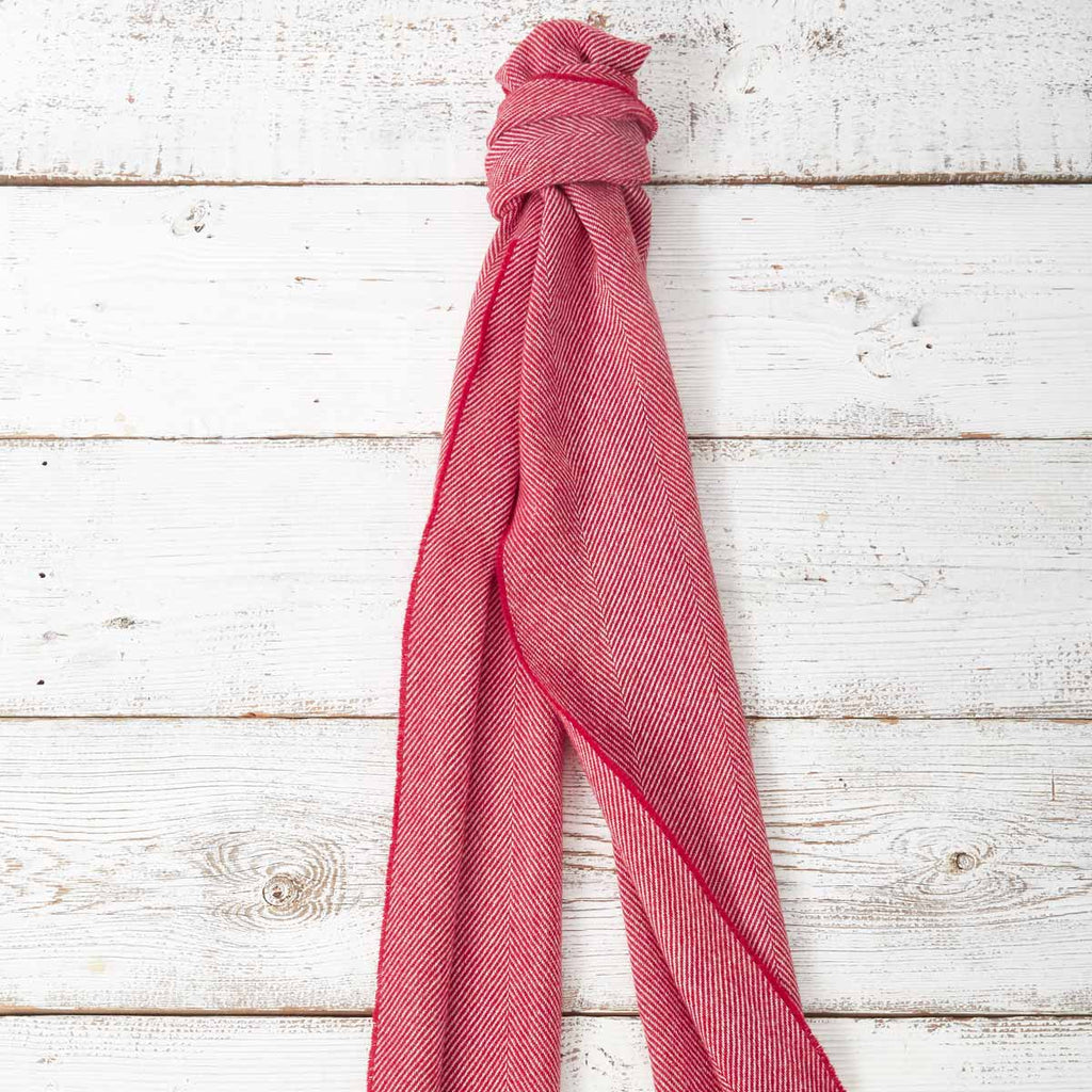 Extra Long Scarf - Cranberry - Tolly McRae