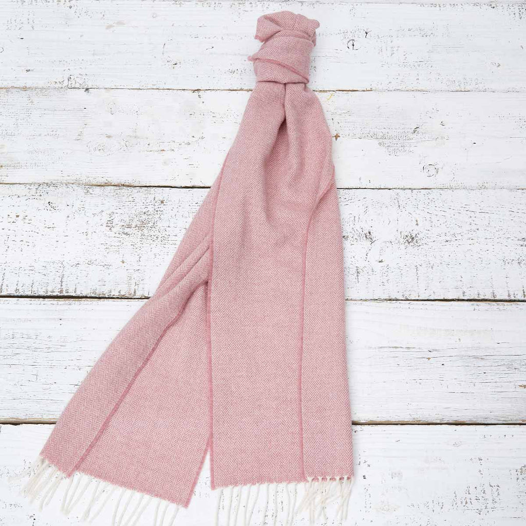 Extra Long Scarf - Dusky Rose - Tolly McRae