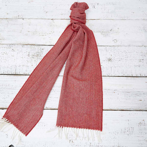 Extra Long Scarf - Rust Orange