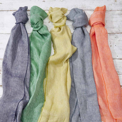 Linen Scarves - Various Colours - Tolly McRae
