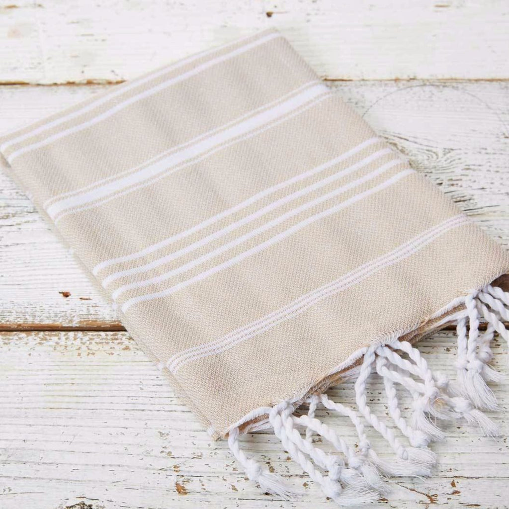 Beige Hand Towel - Tolly McRae