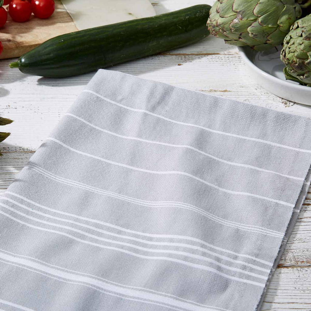 Light Grey Hand Towel / Kitchen Towel - Tolly McRae