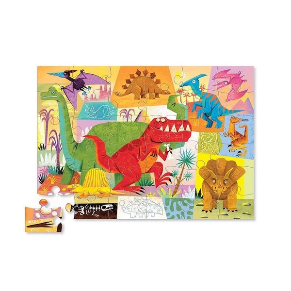 Crocodile Creek Dinosaur 36pc Floor Puzzle