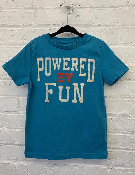 Gymboree Powered by Fun tee 4t