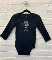 Carters long sleeve onesie 12m