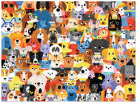 Crocodile Creek Lots of Dogs 500pc Puzzle