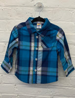 HealthTex check shirt 12m