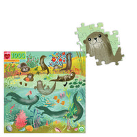 eeboo Otters 1000pc Puzzle