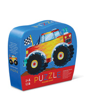 Crocodile Creek Monster Truck 12pc Mini Puzzle