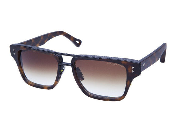 dita mach three brown sunglasses