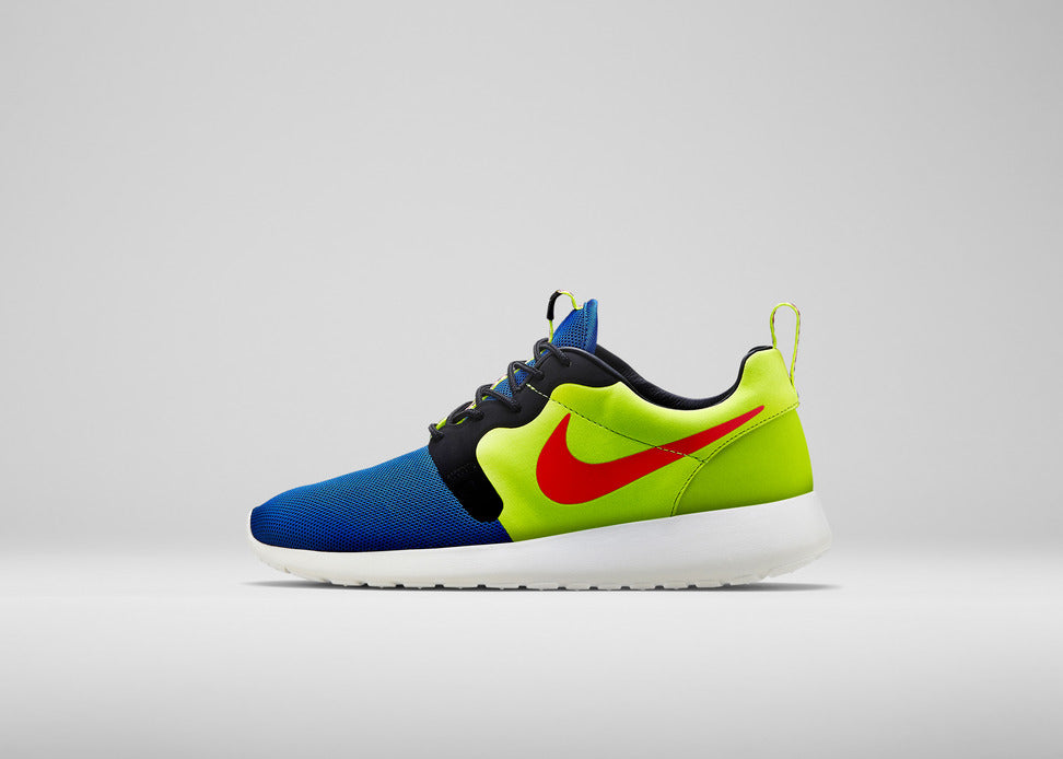 Nike Roshe Run HYP Premium 669689-400 Game Royal/Hypr Punch-Vlt-Ivry
