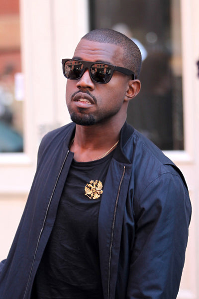 Kanye West in the Super Flattop Matte Black