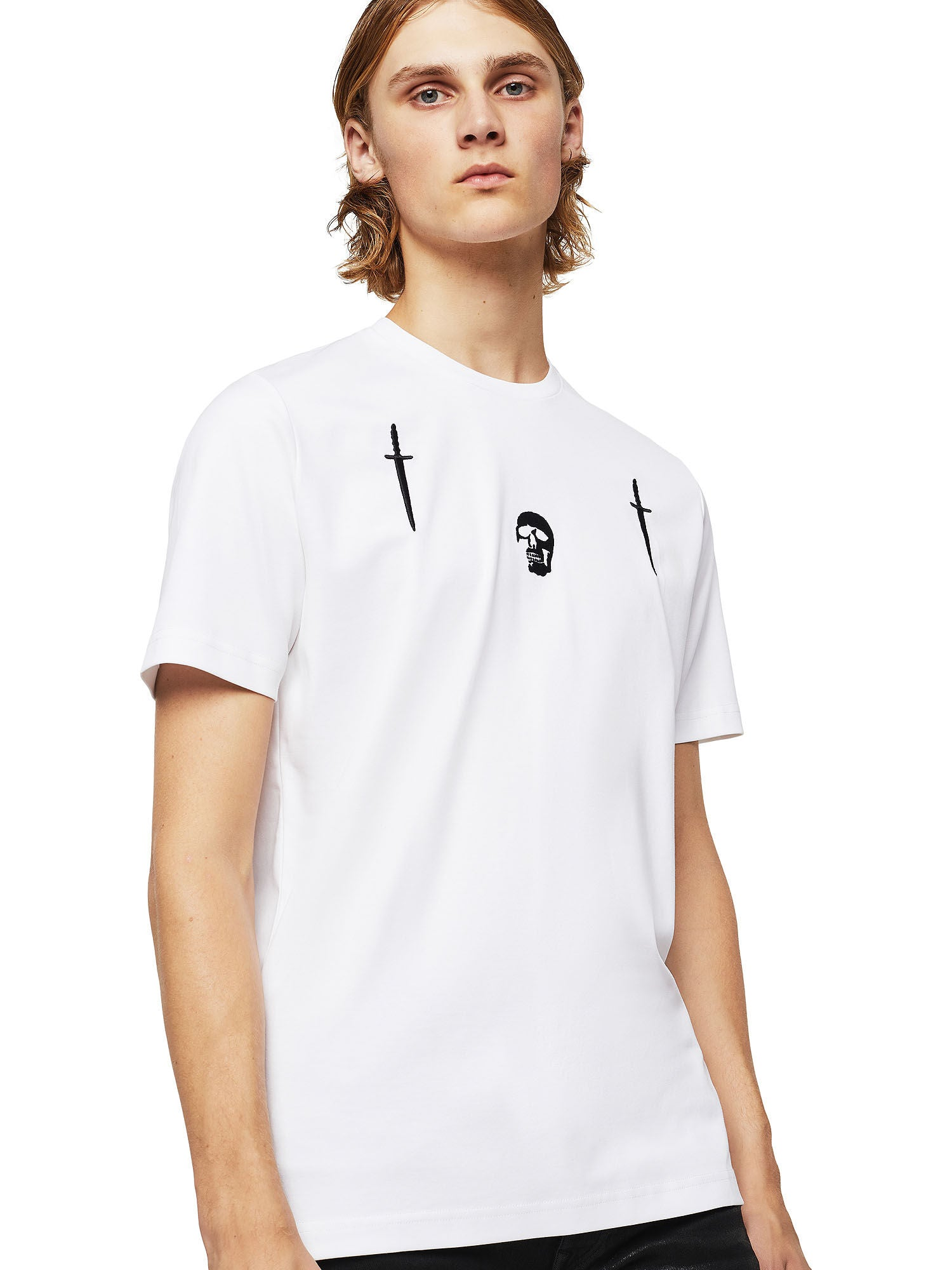 DIESEL BLACK GOLD TY-X2 T-SHIRT WHITE