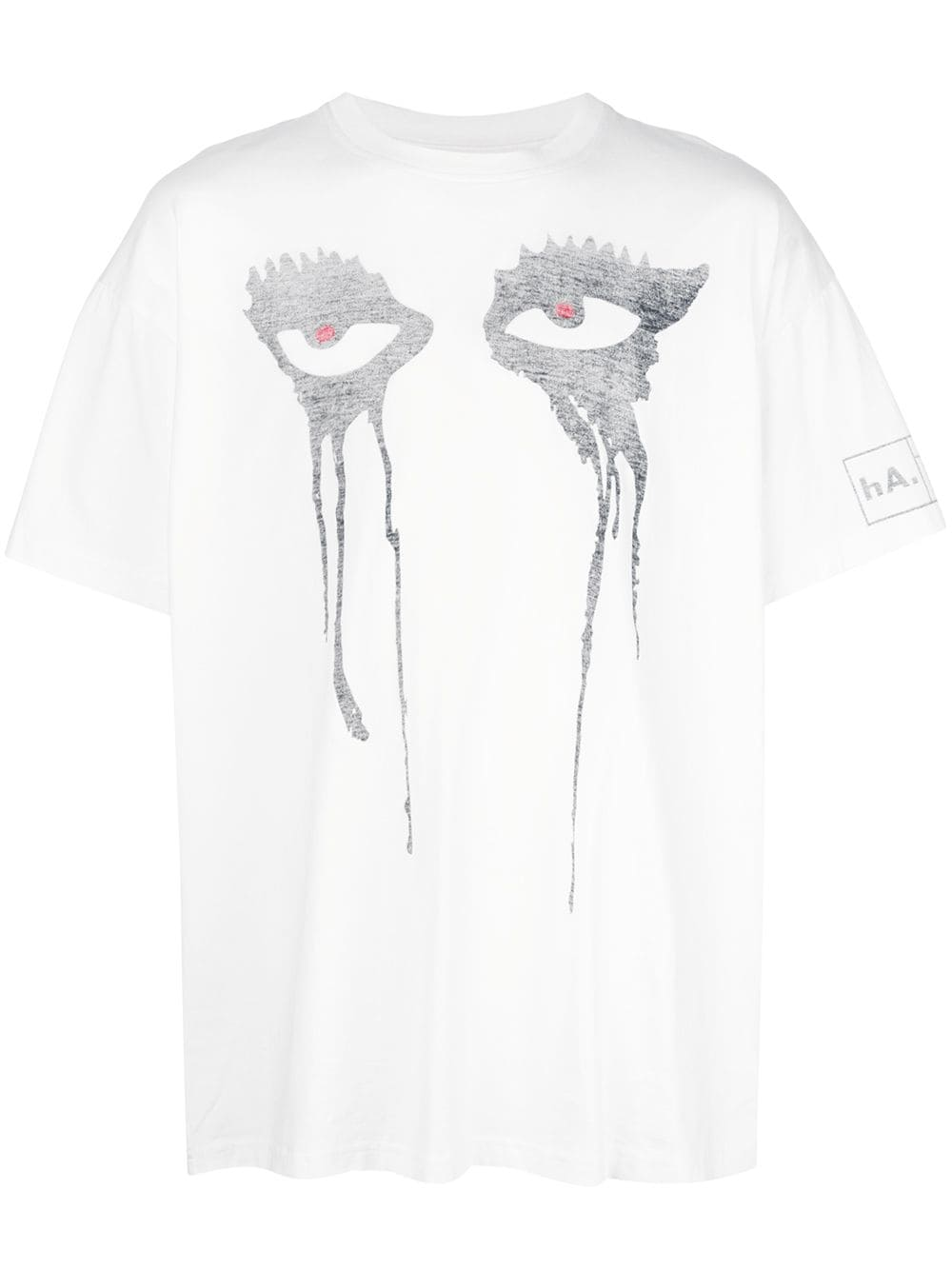 HACULLA MOODY EYES TEE OFF-WHITE