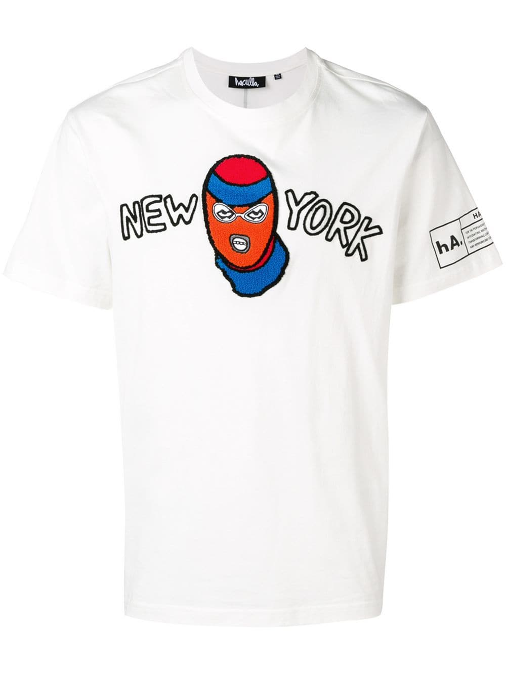 HACULLA NEW YORK ROBBER TEE OFF-WHITE
