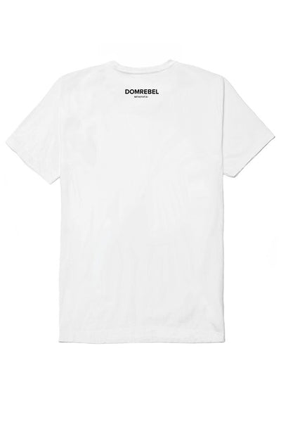 DOMREBEL BALLER T-SHIRT WHITE