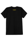 DOMREBEL ZAP T-SHIRT BLACK