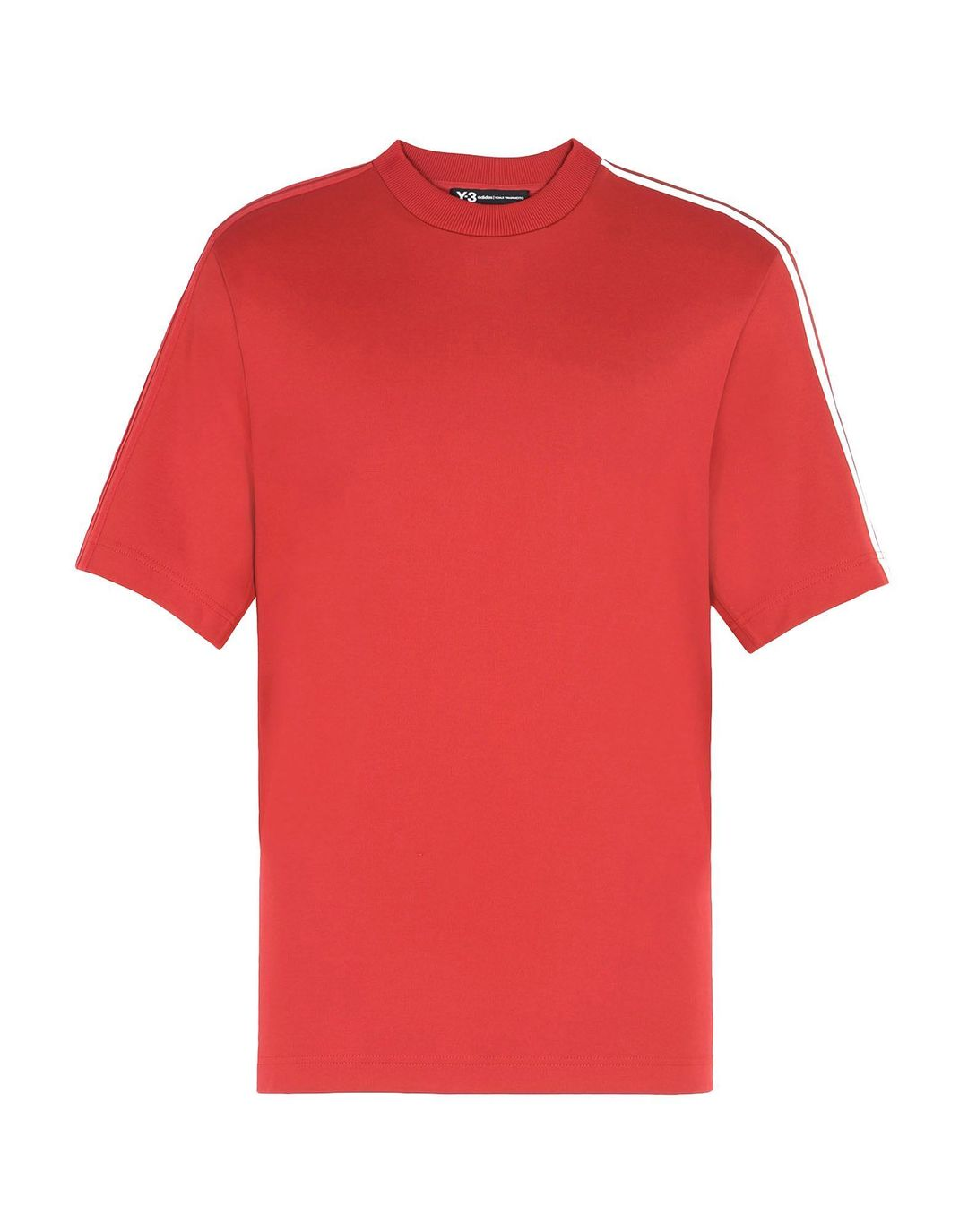 Y-3 3-STRIPES TEE CHILI PEPPER CY6959