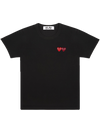 CDG P1T226 PLAY T-SHIRT BLACK
