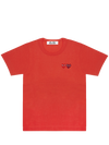 CDG P1T226 PLAY T-SHIRT RED
