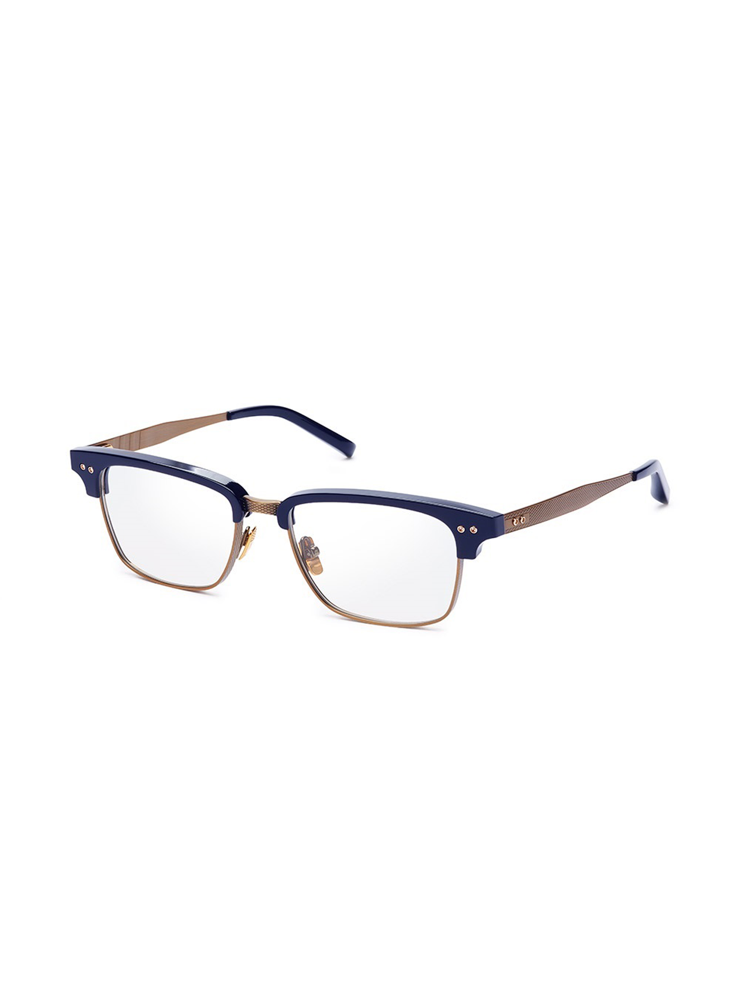 DITA STATESMAN THREE DRX-2011-E- NVY GLD GLASSES