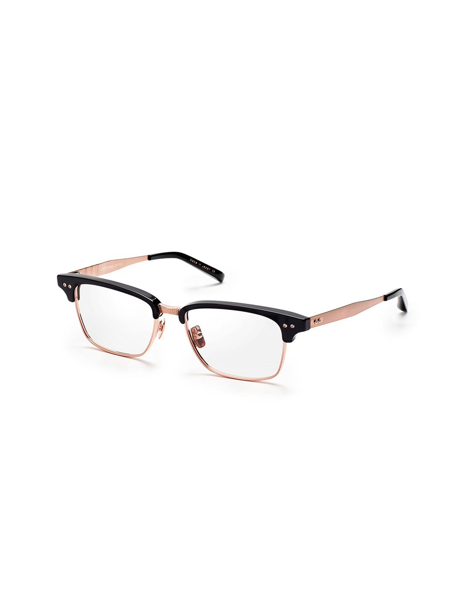DITA STATESMAN THREE DRX-2011-N- BLK RGLD GLASSES
