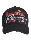 DSQUARED2 BCM0202 BASEBALL CAP-NERO