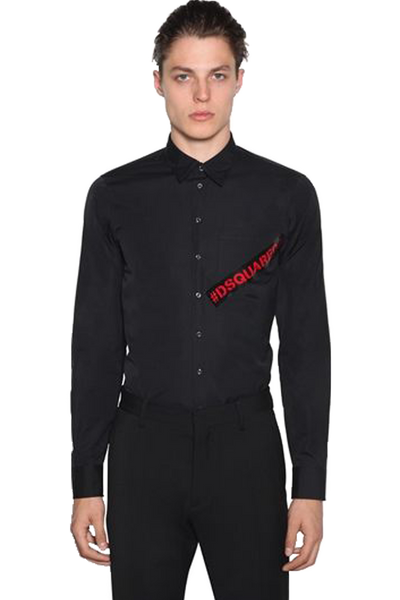 DSQUARED2 S74DM0231 SHIRT BLACK