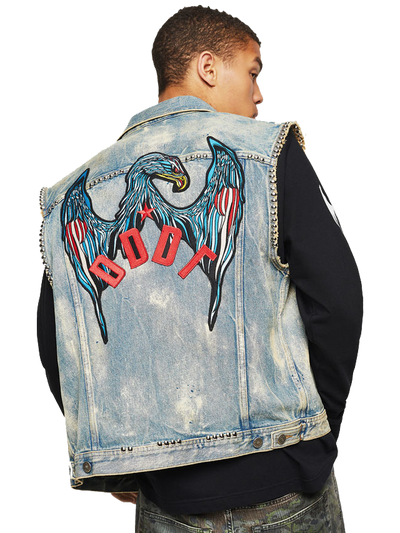 DIESEL D-SMAK JACKET DENIM