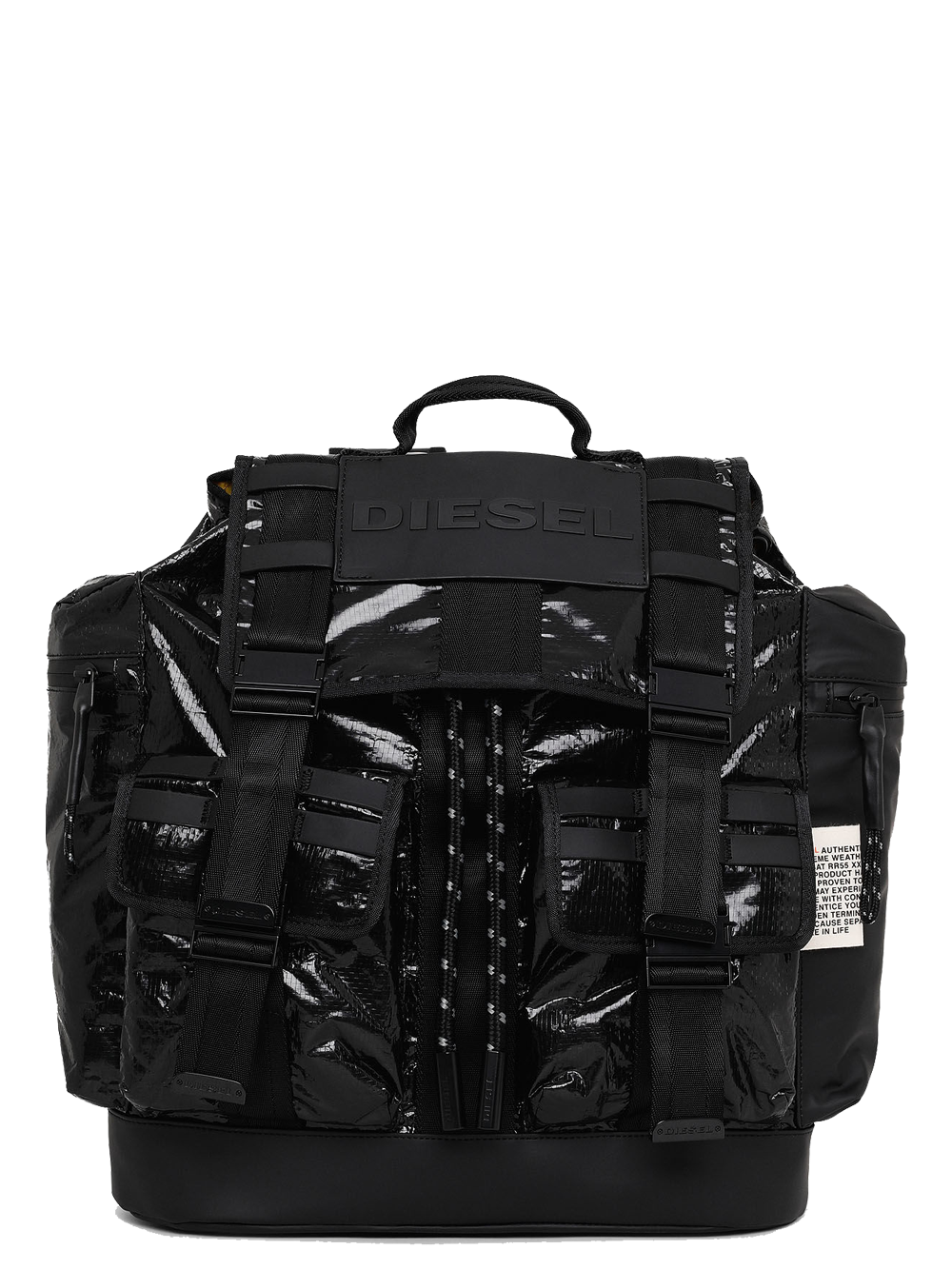 DIESEL CAGE M-CAGE BACK-BACKPACK BLACK