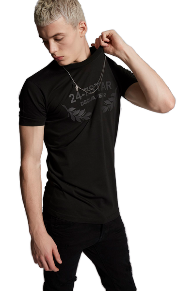 DSQUARED2 S74GD0232 T-SHIRT BLACK
