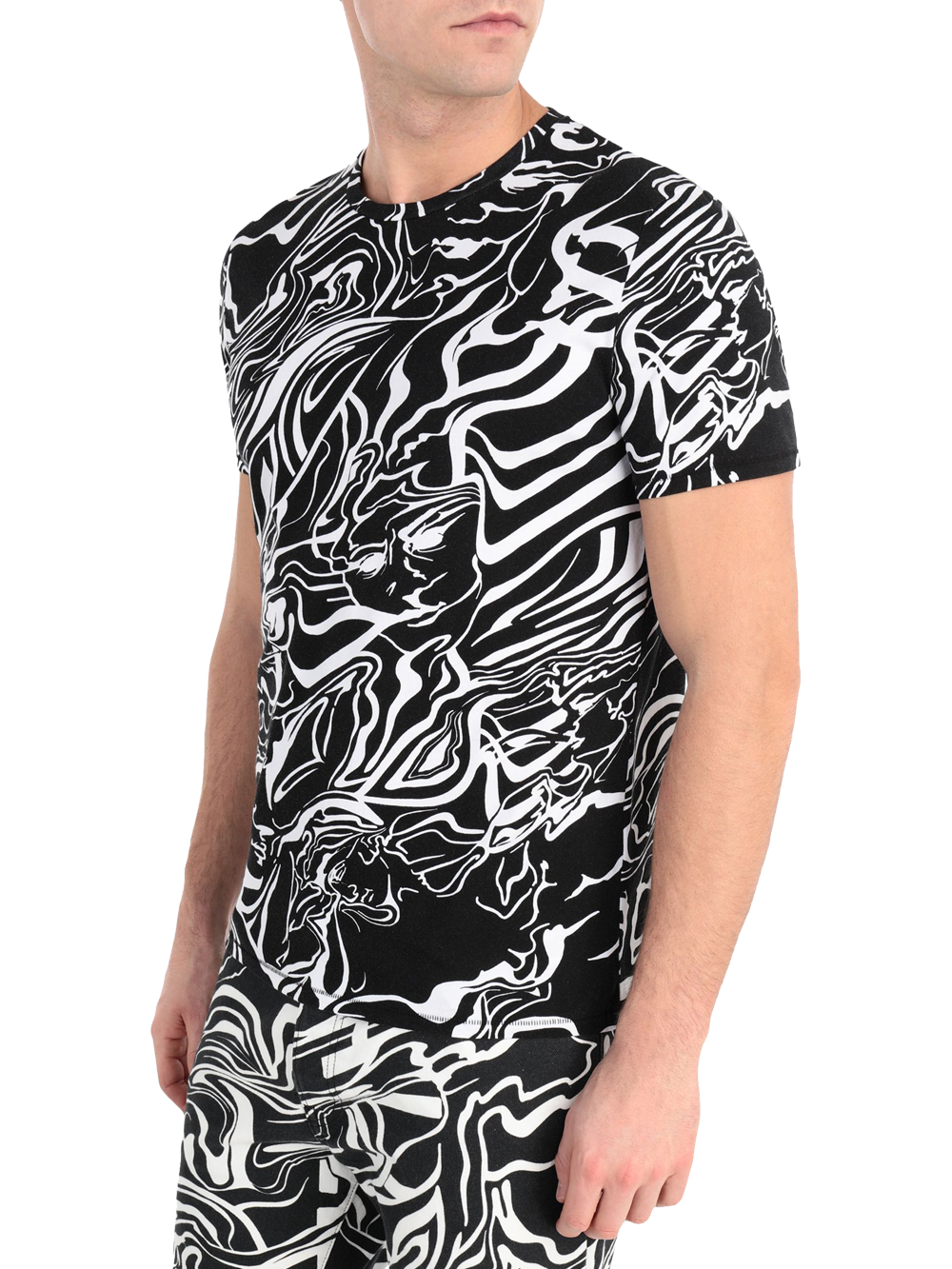 JUST CAVALLI S03GC0517 T-SHIRT COL.002S