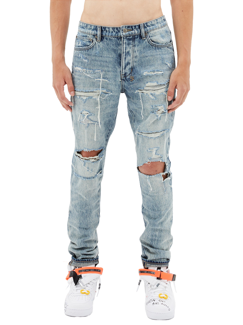 KSUBI CHITCH DYNAMITE TRASH DENIM