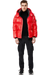 MACKAGE KENT-R HOODED DOWN JACKET RED