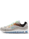 NIKE AIR MAX 98 OA GS VAST GREY/ ELECTRO GREEN