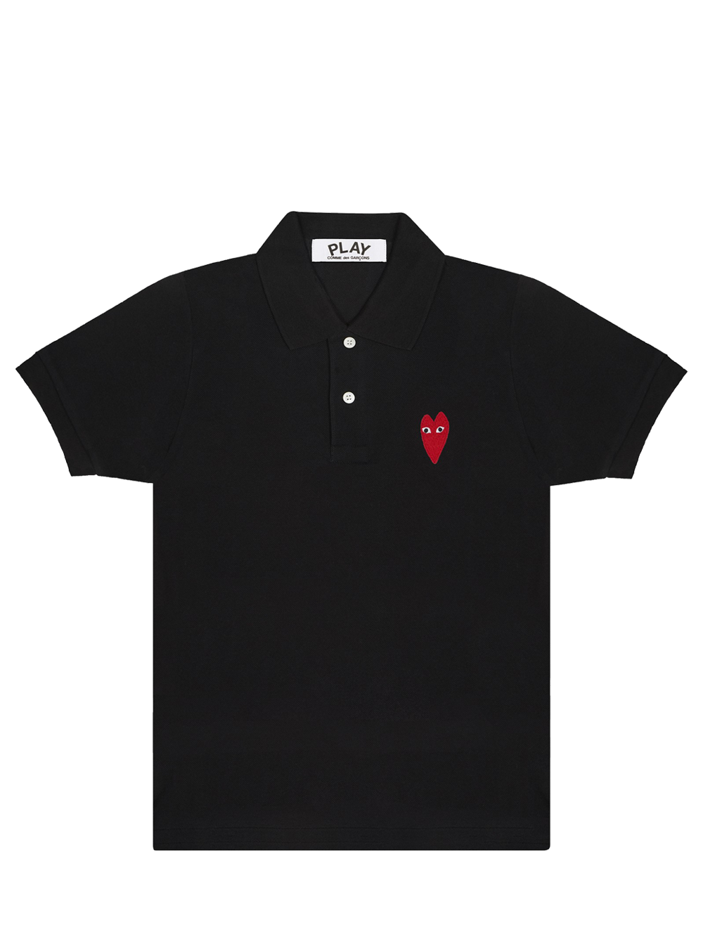 PLAY P1T232 PLAY POLO SHIRT BLACK