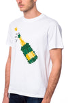 Mostly Heard Rarely Seen Poppin Bottles Tee White