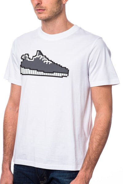 Mostly Seen Rarely Heard Yeewest Sneaker Tee White