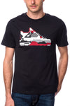 Mostly Heard Rarely Seen Dunk Sneaker Tee White