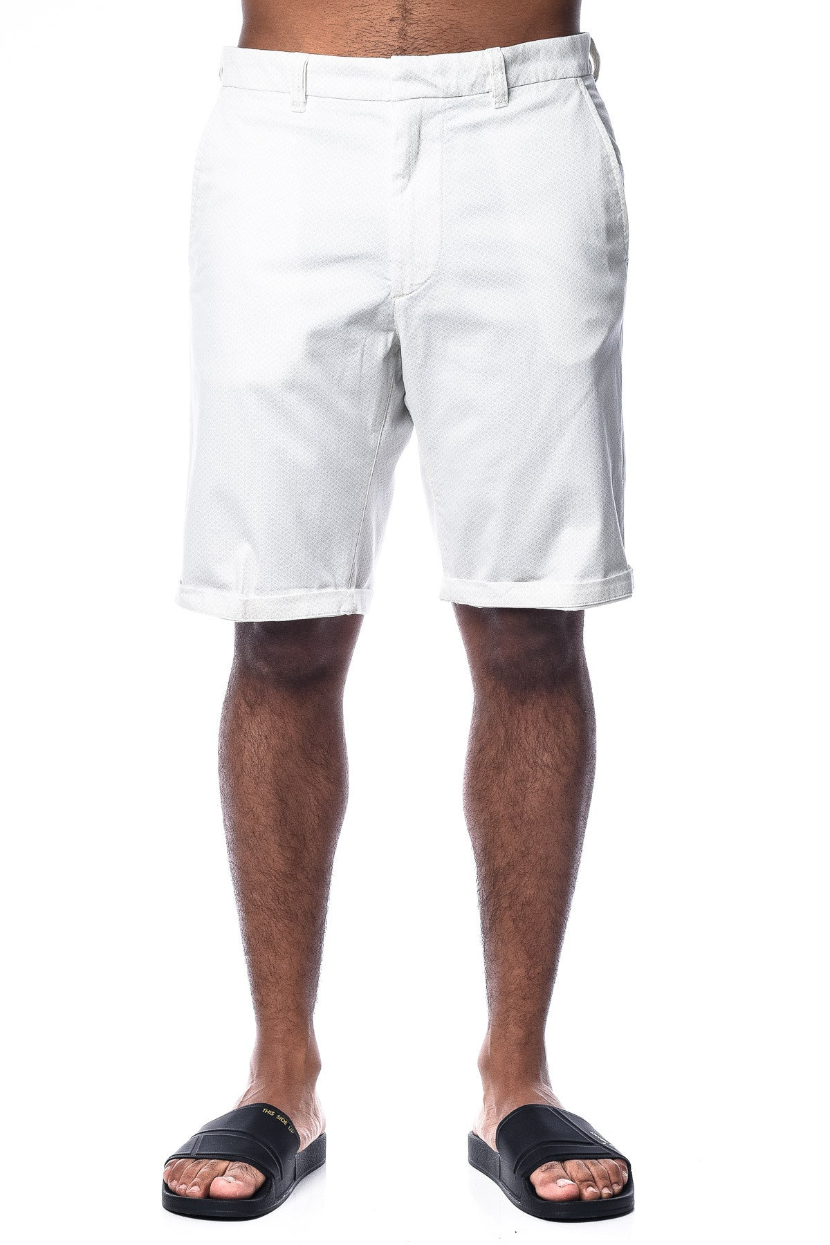 Diesel Chi-Driver-Sho-Roll Shorts White