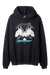 REPRESENT M04027 THOROUGHBRED HOODIE BLACK