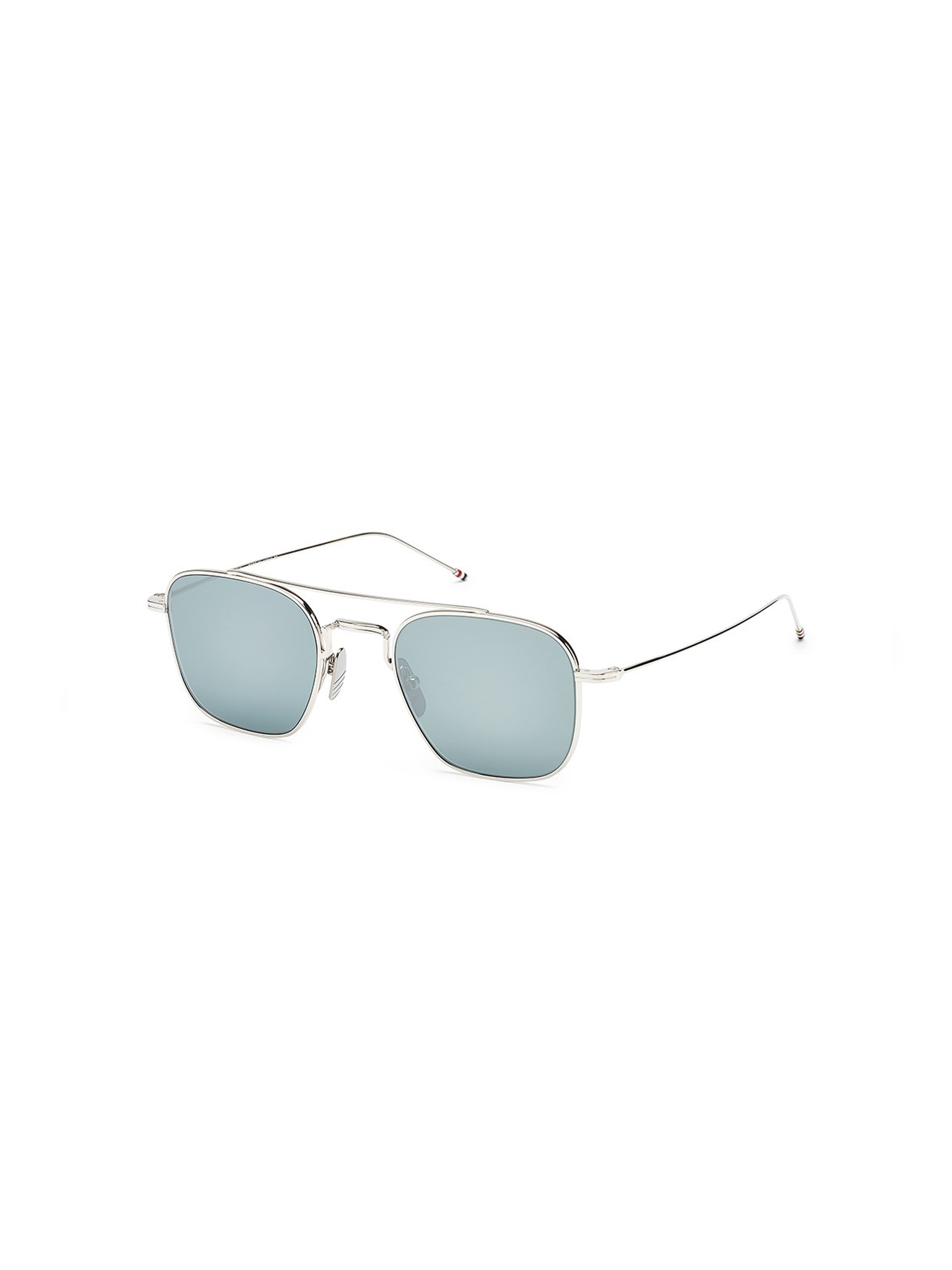 THOM BROWNE TB-907-50-02-SLV SUNGLASSES