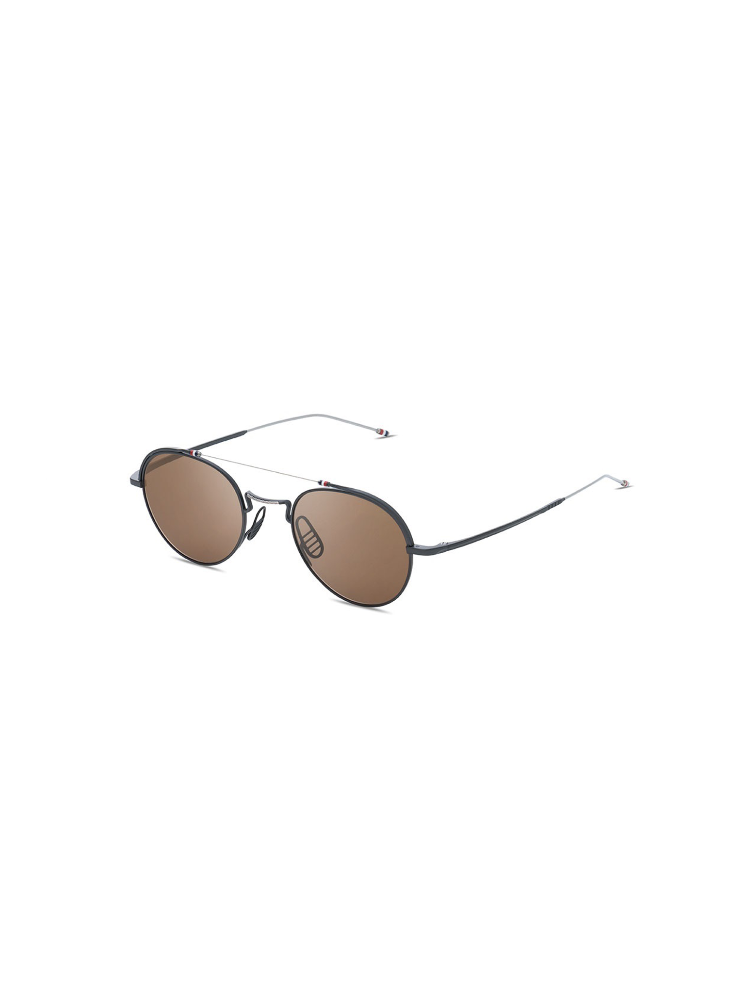 ca95bed7dea0 THOM BROWNE TB-912-49-03-BLK-SLV SUNGLASSES | Free Shipping Offer! - Probus  NYC