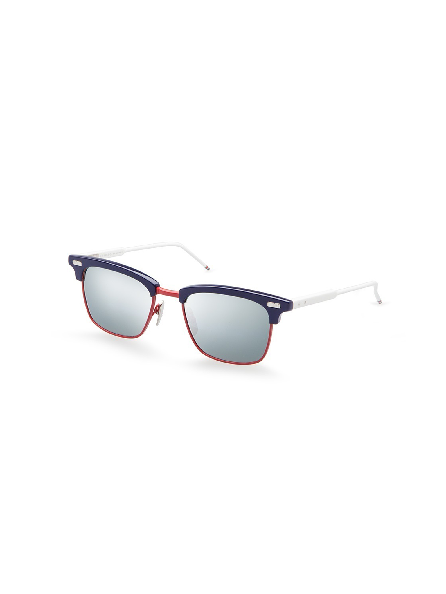 f2e6a1e26239 THOM BROWNE TBS-711-D-T-NVY-RED-WHT-52 SUNGLASSES