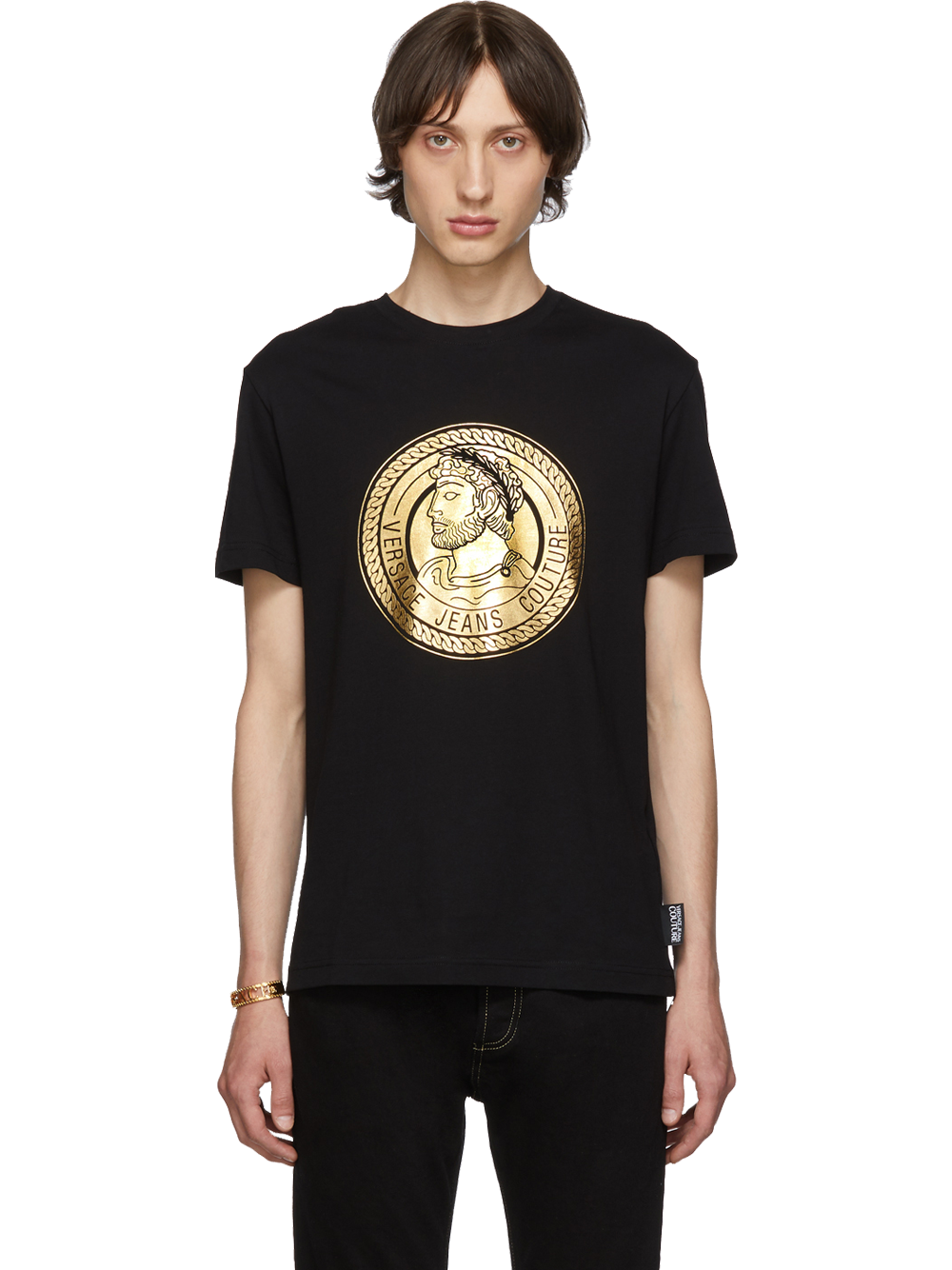 VERSACE EB3GUA7KB-E36598-EY6AT-SHIRT