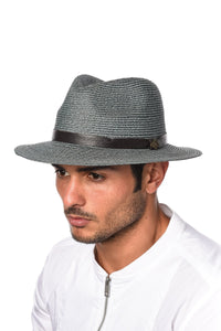 Accessories - Goorin Fletch Fedora Blue Hat