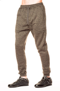 Bottoms - Publish Noel Heathered Charcoal Jogger Pant