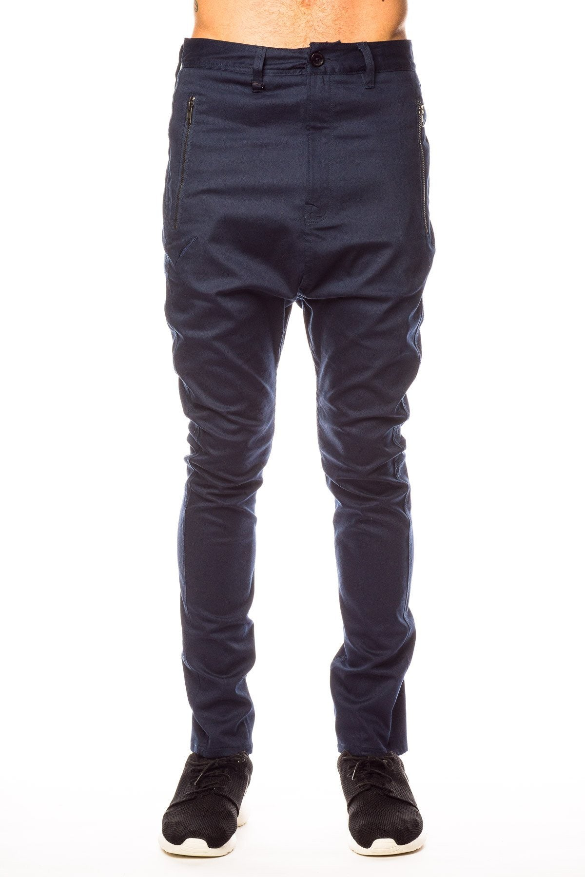Bottoms - Publish Wyn Drop Stack Navy Pant